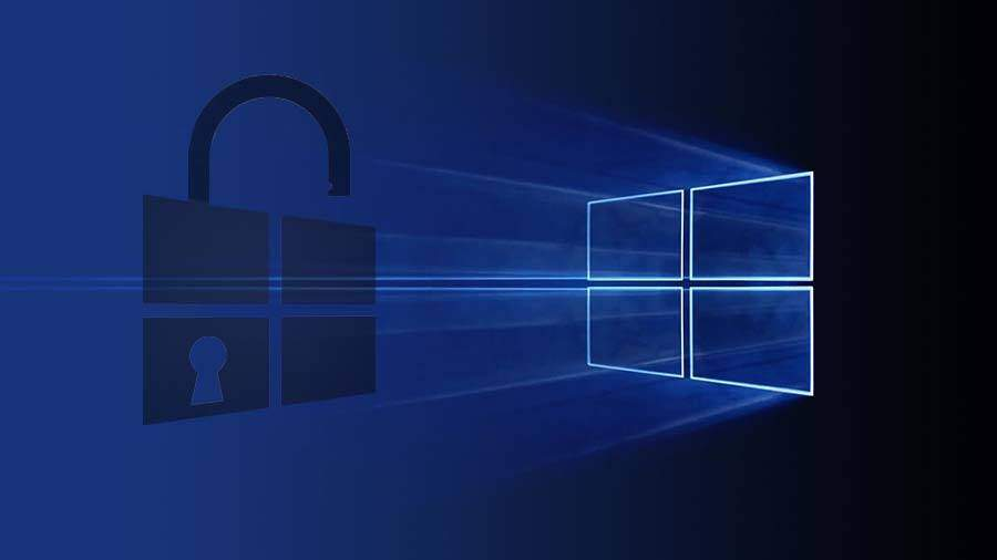 windows 10 saugumo nustatymai