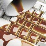 kompiuteris aplaistytas kava