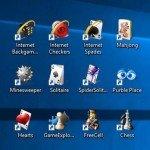 seni žaidimai windows 10