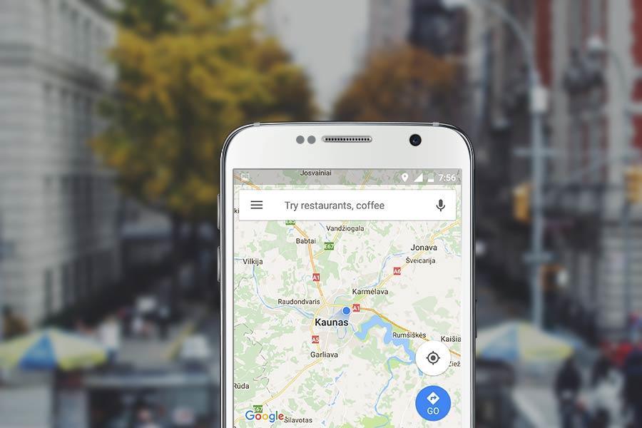 Kaip naudotis Google Maps navigacija išmaniajame telefone be interneto