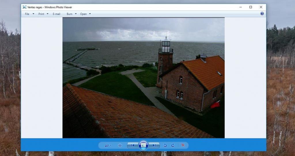 Kaip į Windows 10 grąžinti senąją nuotraukų peržiūros programą Windows Photo Viewer