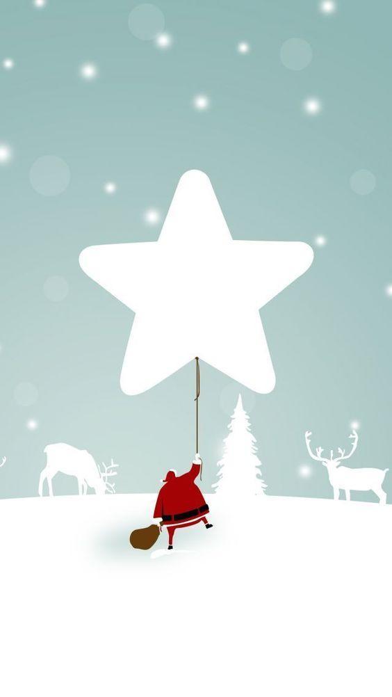 kalėdinis paveikslėlis telefonui