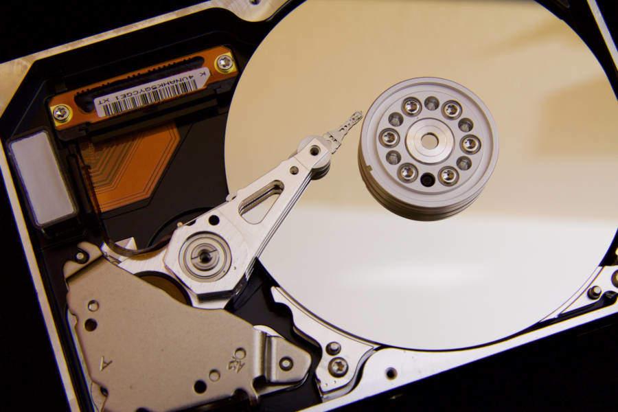 mechaninis kietasis diskas