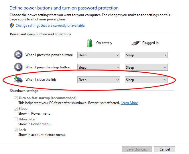 ką daryti, kad uždarius kompiuterį jis neišsijungtų