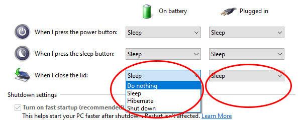 kaip nustatyti kad kompiuteris neužmigtų