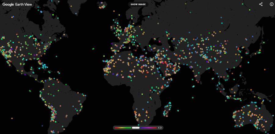 google earth žemėlapis