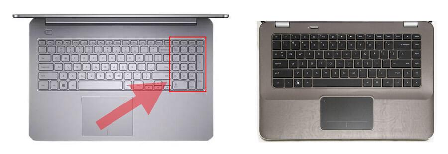 kompiuteris su skaičių klaviatūra